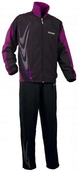 Tibhar Anzug Boomerang schwarz/violett