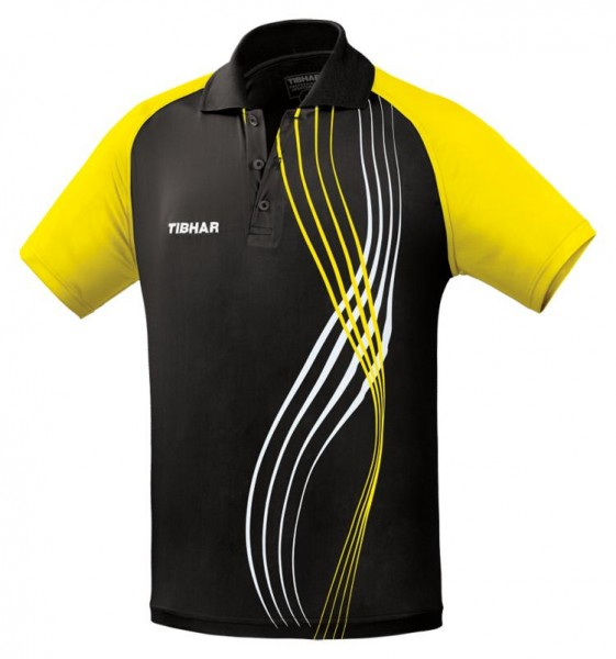 Tibhar Hemd Express schwarz/gelb