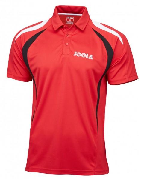 Joola Hemd Squadra rot/schwarz