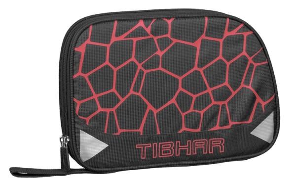 Tibhar Doppelhülle Spider schwarz/rot