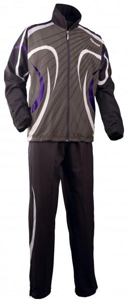 Tibhar Anzug Beat grau/violett