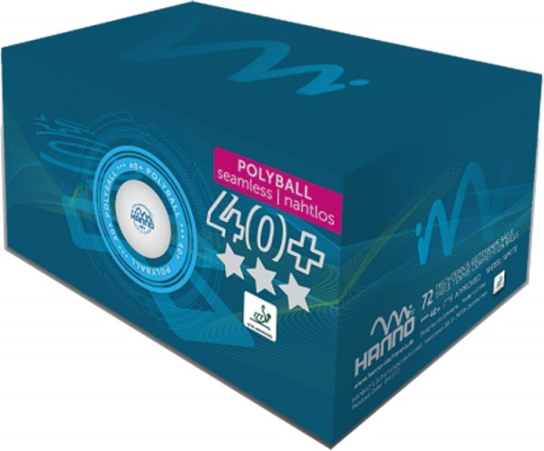 Hanno Ball Competition 40+ ***nahtlos 72er Pack