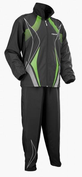 Tibhar Anzug Race schwarz/grün