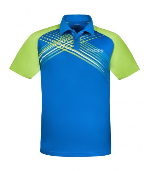 Donic Hemd Riva Kids blau/lime