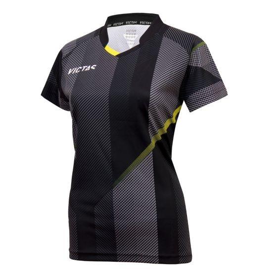 Victas V-Ladyshirt 220 schwarz