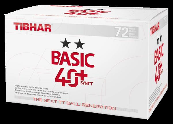 Tibhar Ball Basic 40+ ** Syntt 72er Pack