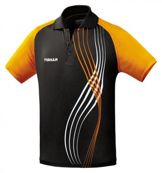 Tibhar Hemd Express schwarz/orange