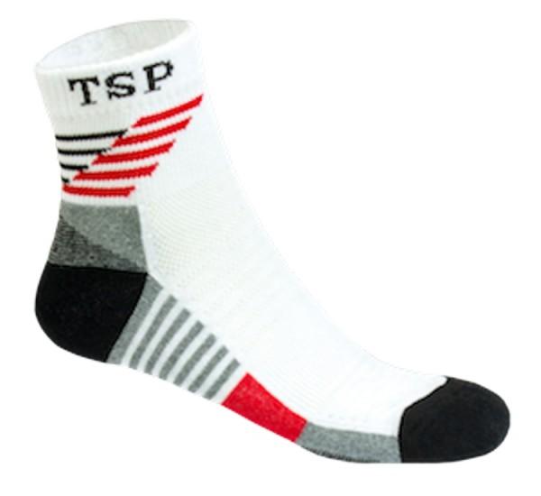 TSP Socke Hyper Flex weiß/rot