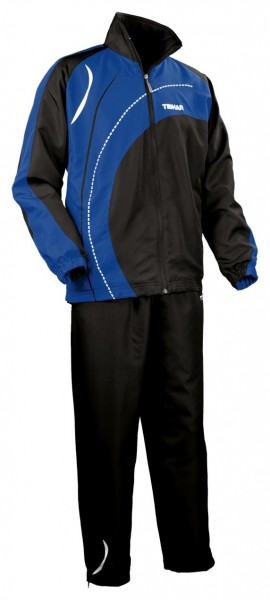 Tibhar Anzug Tour schwarz/blau