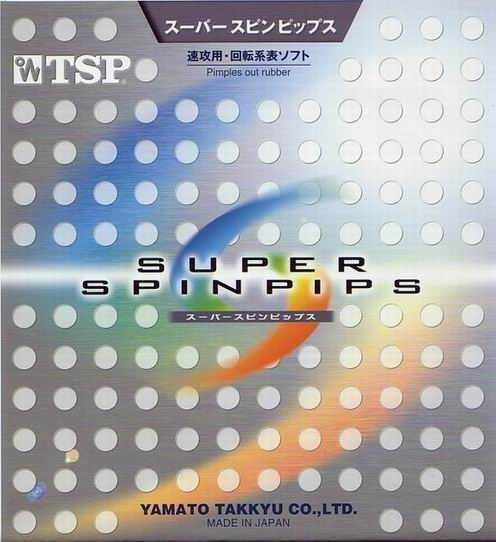 TSP Belag Super Spin Pips