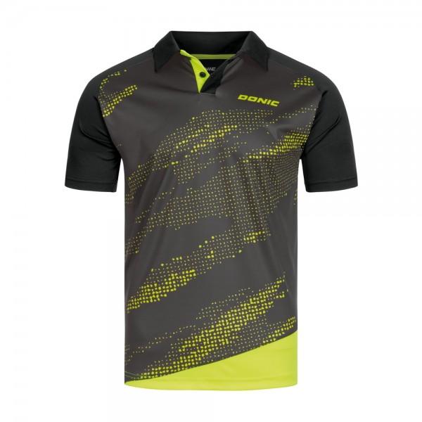 Donic Hemd Mega schwarz/gelb