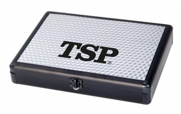 TSP Schlägerkoffer Alucase Pro 3D silber