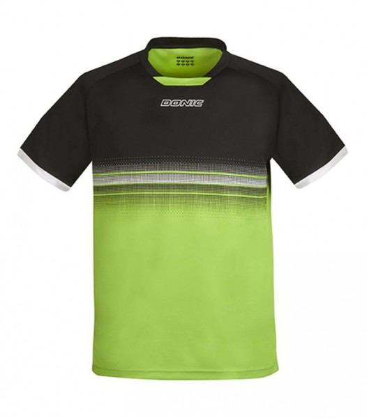 Donic T-Shirt Traxion schwarz/grün