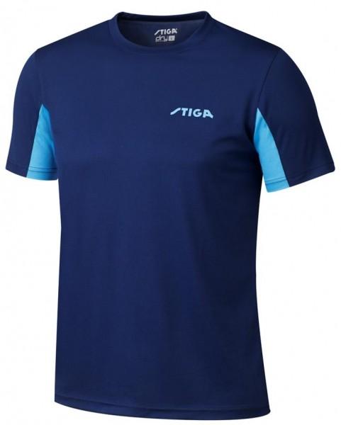 Stiga T-Shirt Atlantis navy/sky