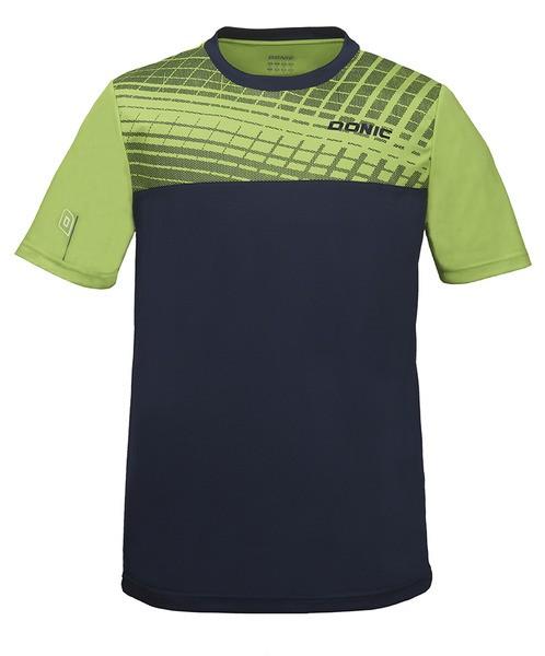 Donic T-Shirt Vertigo Kids limegrün/marine