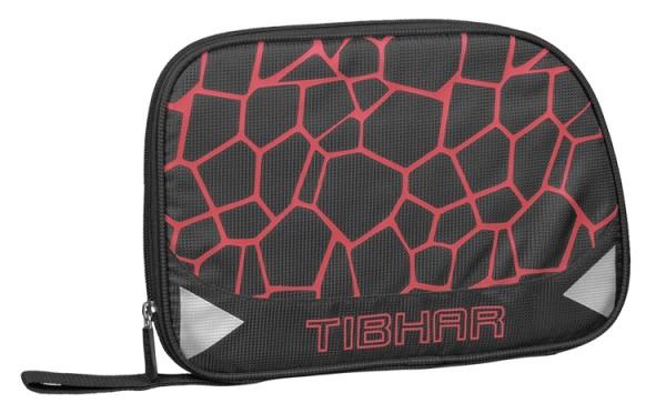 Tibhar Einzelhülle Spider schwarz/rot