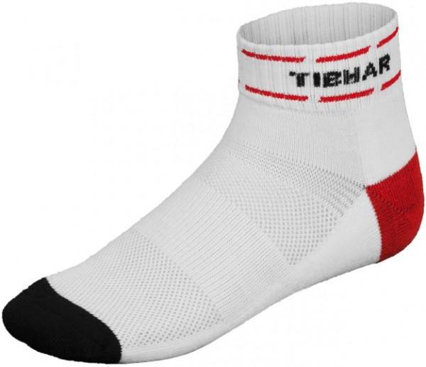Tibhar Socke Classic weiß/rot