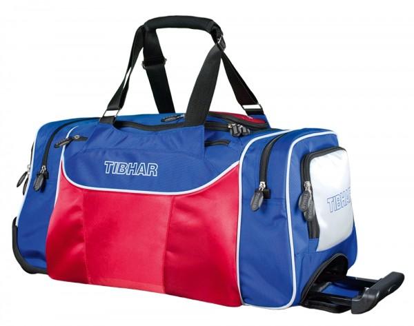 Tibhar Rollerbag Trend klein blau/weiß/rot