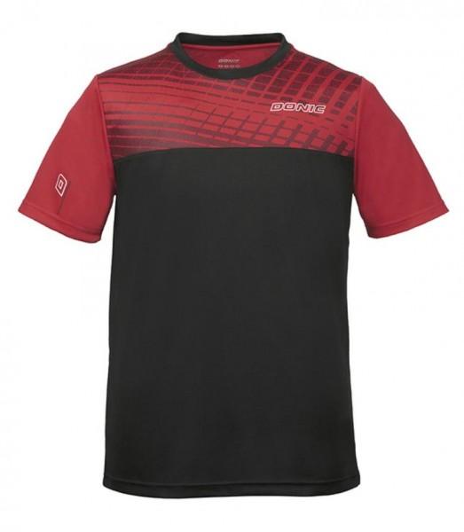 Donic T-Shirt Vertigo Kids rot/schwarz