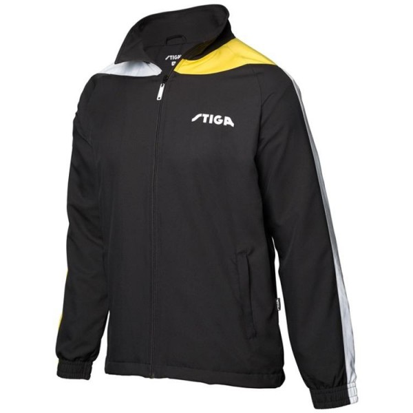 Stiga Anzugjacke Ocean schwarz/gelb/weiß