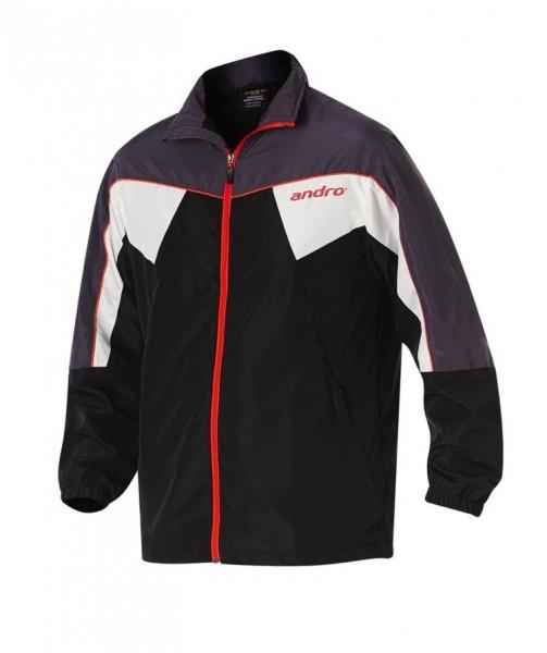 andro Anzugjacke Preston schwarz/grau/rot/weiß