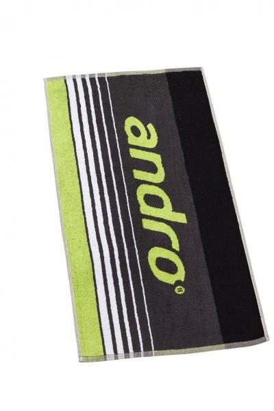 andro Handtuch Spike grau/neongrün
