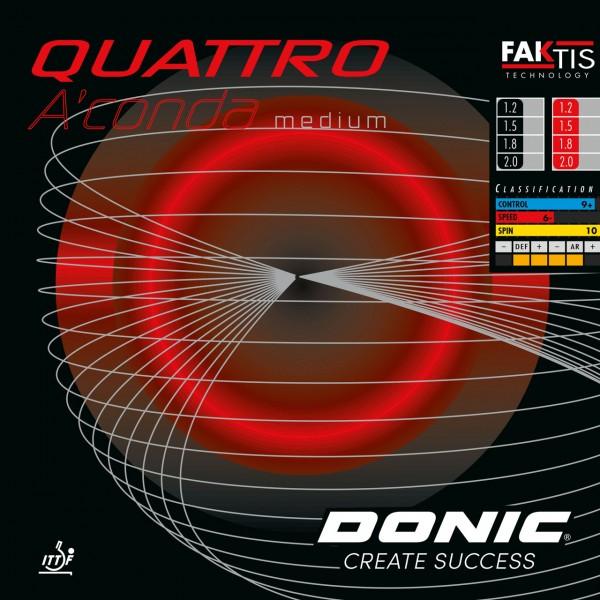 Donic Belag Quattro A'conda Medium