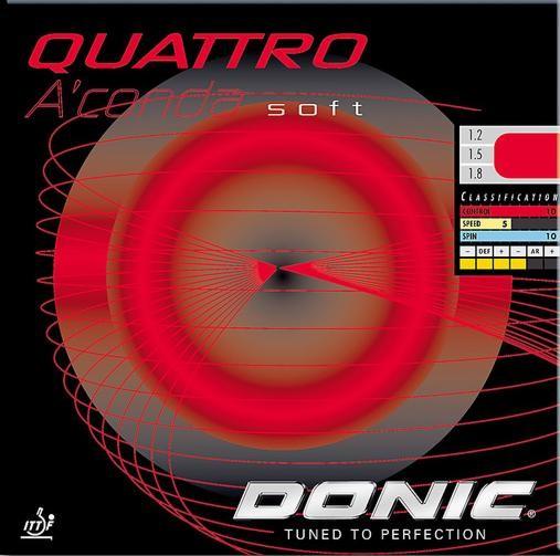 Donic Belag Quattro A'conda Soft