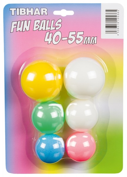 Tibhar Fun Balls 40-55mm