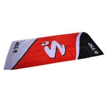 TSP Handtuch Yutaka II rot/schwarz/weiß