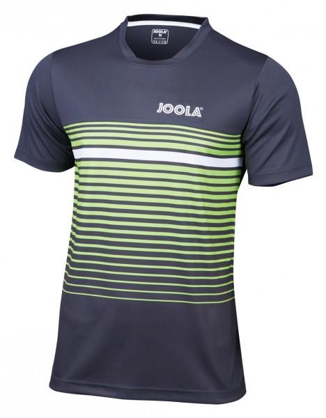 Joola T-Shirt Stripes grau/lime