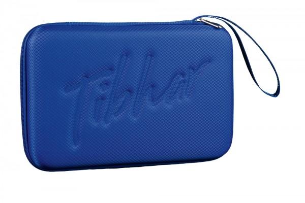 Tibhar Schlägerkoffer Grid eckig blau