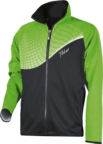 Tibhar Anzugjacke Curve schwarz/grün
