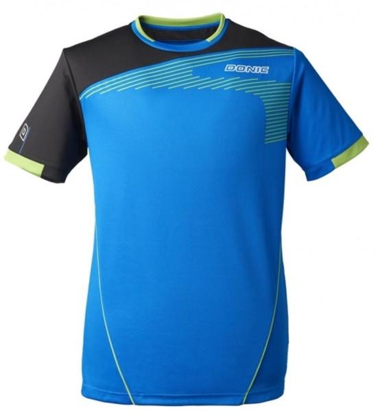 Donic T-Shirt Cosmo cyan/schwarz