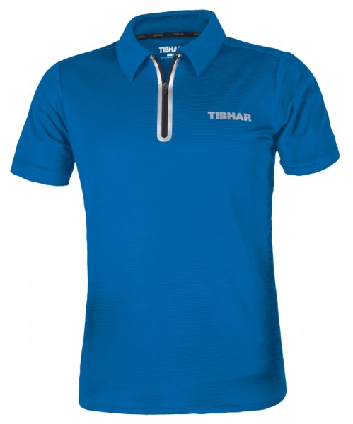 Tibhar Hemd Globe Men blau