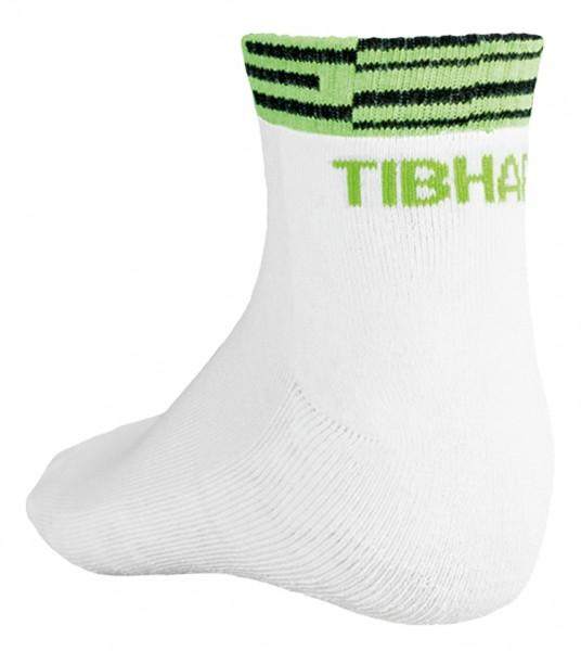 Tibhar Socke Line weiß/grün