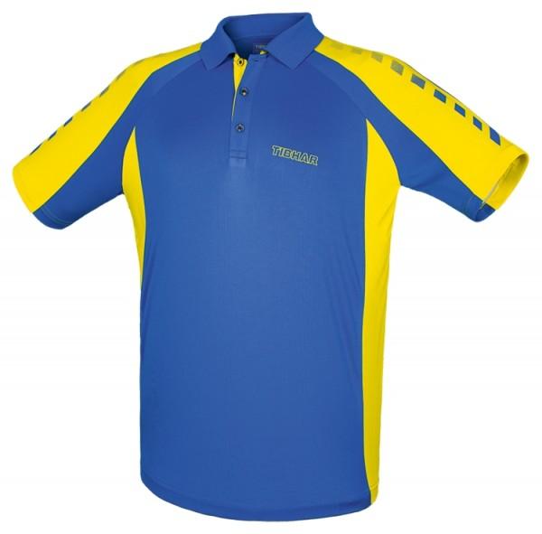 Tibhar Hemd Arrows Men blau/gelb