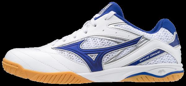 Mizuno Schuh Wave Drive 8 weiß/blau